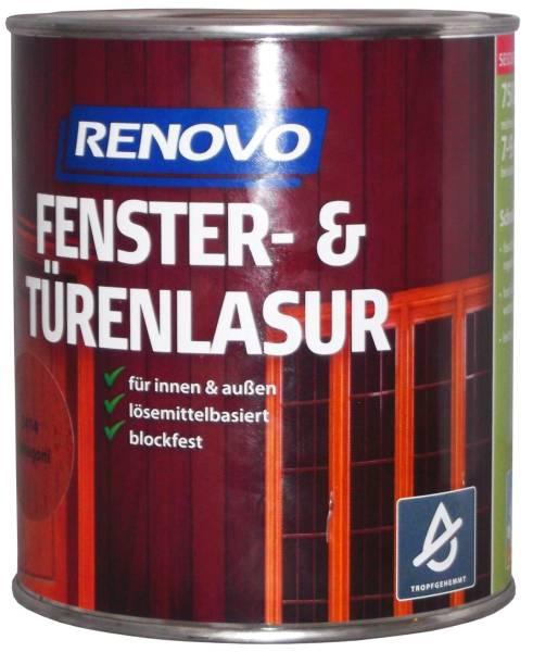 750ml Renovo Fenster&Türenlasur Nr.1410 eiche