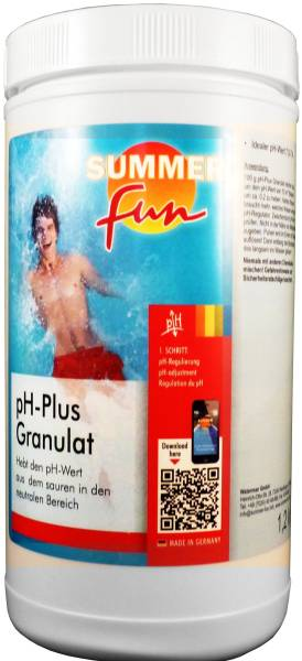 1,2kg pH-Plus Granulat pH-Wert Anheber